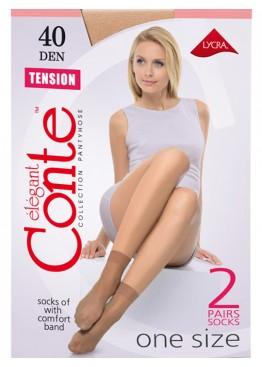 Conte Lingerie Носки женские Tension 40d 2 пары