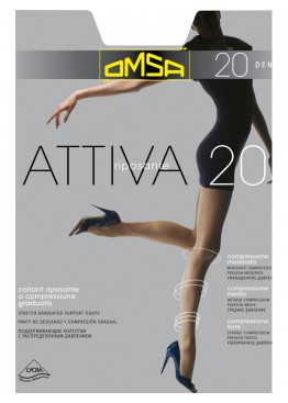 Omsa Колготки женские Attiva 20