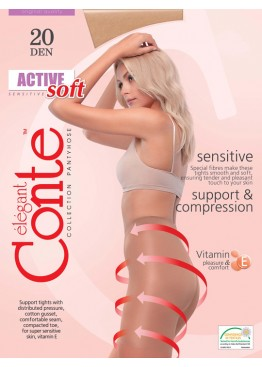 Conte Lingerie Колготки женские Active Soft 20 2-4