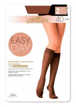 Omsa Гольфы женские Gamb. Easy Day 40 [2 пары]