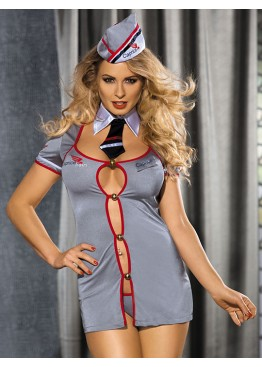 Caprice Комплект Conductor платье стринги воротник пилотка
